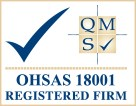 OHSAS registered firm
